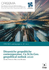 Cover Dinamiche geopolitiche contemporanee. Ce.St.In.Geo. geopolitical outlook 2020