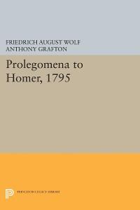 Cover Prolegomena to Homer, 1795