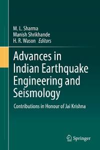 Cover Advances in Indian Earthquake Engineering and Seismology