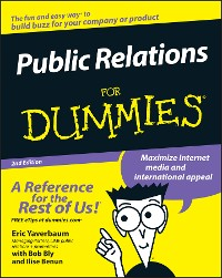 Cover Public Relations For Dummies