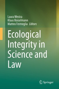 Cover Ecological Integrity in Science and Law