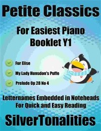 Cover Petite Classics for Easiest Piano Booklet Y1
