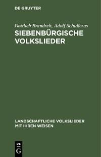 Cover Siebenbürgische Volkslieder