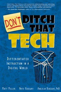 Cover Don't Ditch That Tech