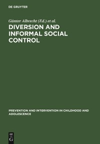 Cover Diversion and Informal Social Control
