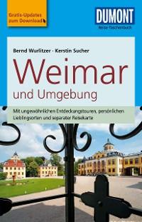 Cover DuMont Reise-Taschenbuch Reiseführer Weimar und Umgebung