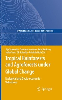 Cover Tropical Rainforests and Agroforests under Global Change