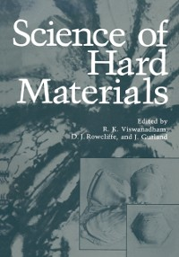 Cover Science of Hard Materials
