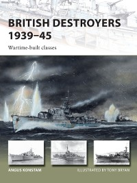 Cover British Destroyers 1939–45