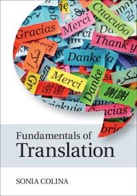 Cover Fundamentals of Translation