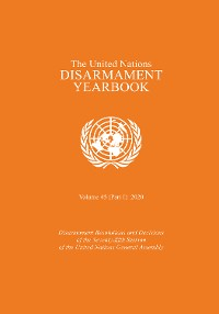 Cover The United Nations Disarmament Yearbook 2020: Part I