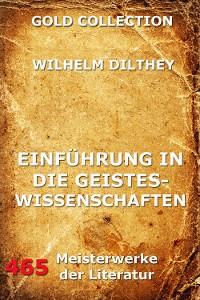 Cover Einführung in die Geisteswissenschaften
