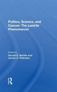 Cover Politics, Science And Cancer
