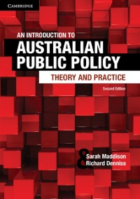 Cover Introduction to Australian Public Policy