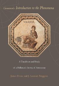 Cover Geminos's Introduction to the Phenomena