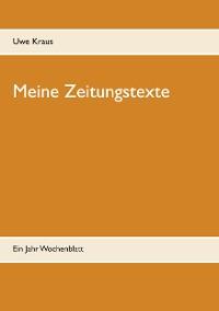 Cover Meine Zeitungstexte