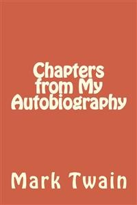 Cover Chapters from My Autobiography