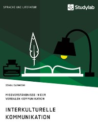 Cover Interkulturelle Kommunikation. Missverständnisse in der verbalen Kommunikation