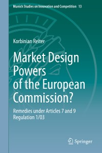 Cover Market Design Powers of the European Commission?