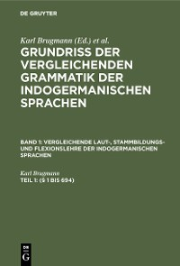 Cover (§ 1 bis 694)