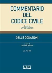Cover Commentario del Codice civile - Delle Donazioni (Artt. 769-809)