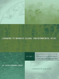 Cover Learning to Manage Global Environmental Risks