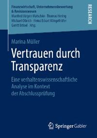 Cover Vertrauen durch Transparenz