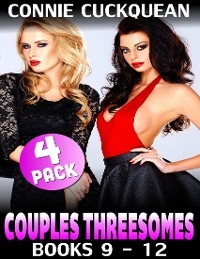 Cover Couples Threesomes 4-pack : Books 9 to 12