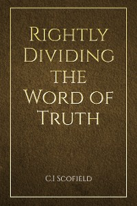 Cover Rightly Dividing the Word of Truth