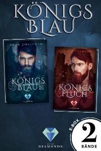 Cover Königsblau: Die E-Box zur märchenhaft-düsteren Reihe über den sagenumwobenen König Blaubart!