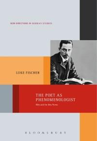 Cover Poet as Phenomenologist