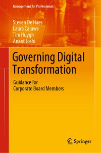 Cover Governing Digital Transformation