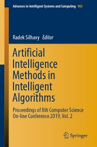 Cover Artificial Intelligence Methods in Intelligent Algorithms