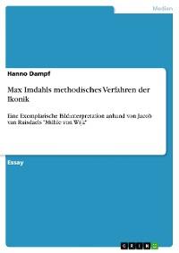 Cover Max Imdahls methodisches Verfahren der Ikonik