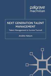 Cover Next Generation Talent Management