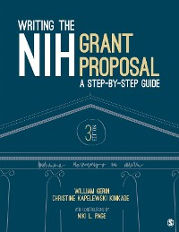 Cover Writing the NIH Grant Proposal