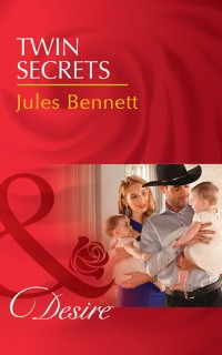 Cover Twin Secrets (Mills & Boon Desire) (The Rancher's Heirs, Book 1)