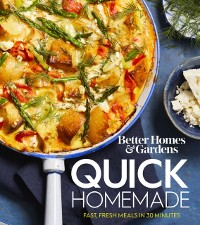 Cover Better Homes and Gardens Quick Homemade