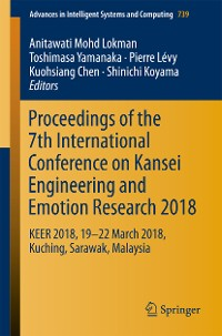 Cover Proceedings of the 7th International Conference on Kansei Engineering and Emotion Research 2018