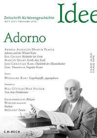 Cover Zeitschrift für Ideengeschichte Heft XIII/1 Frühjahr 2019