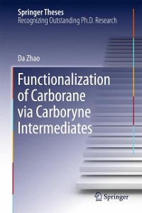 Cover Functionalization of Carborane via Carboryne Intermediates