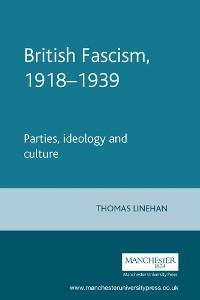 Cover British Fascism, 1918–1939