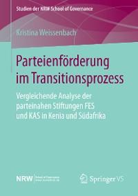 Cover Parteienförderung im Transitionsprozess