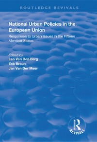Cover National Urban Policies in the European Union