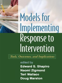 Cover Models for Implementing Response to Intervention