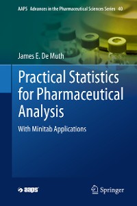 Cover Practical Statistics for Pharmaceutical Analysis