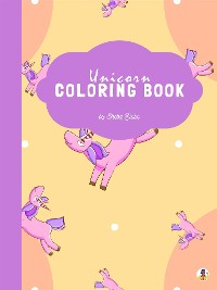 Cover Unicorn Coloring Book for Kids Ages 4+