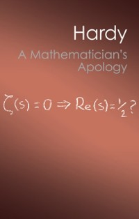 Cover Mathematician's Apology