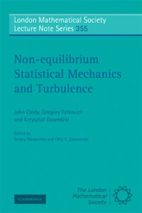 Cover Non-equilibrium Statistical Mechanics and Turbulence