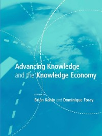 Cover Advancing Knowledge and the Knowledge Economy
